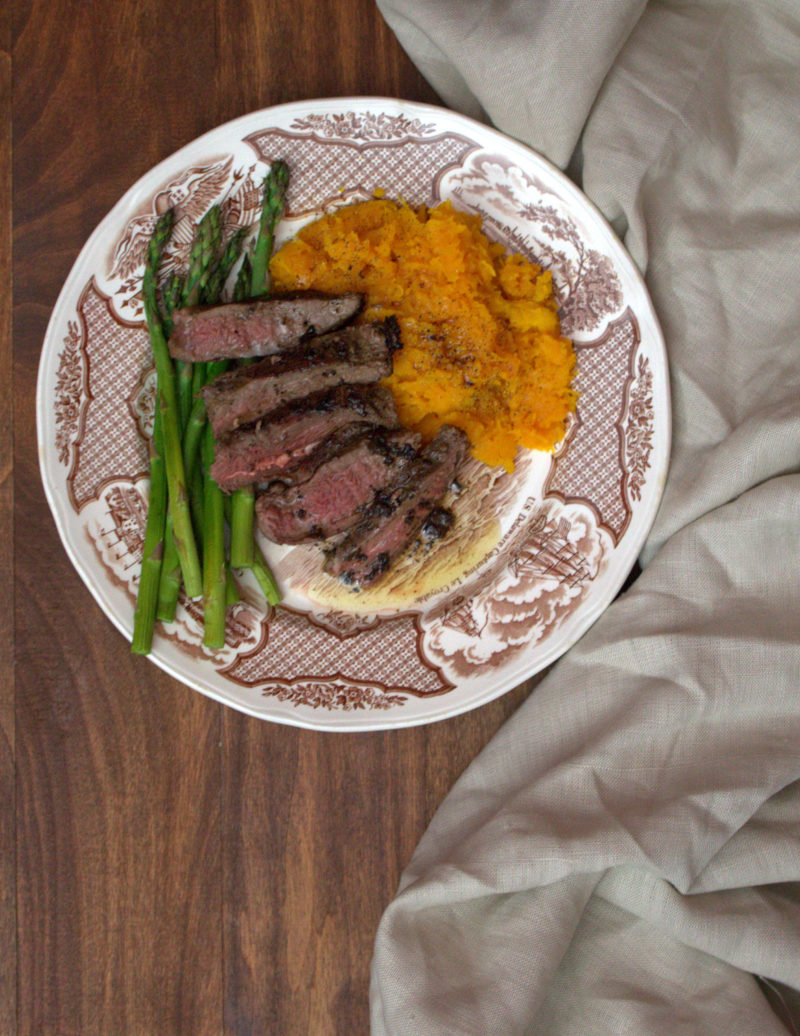 Venison Steak in Cinnamon Brown Butter Sauce - a quick and easy recipe that's perfect for fall.