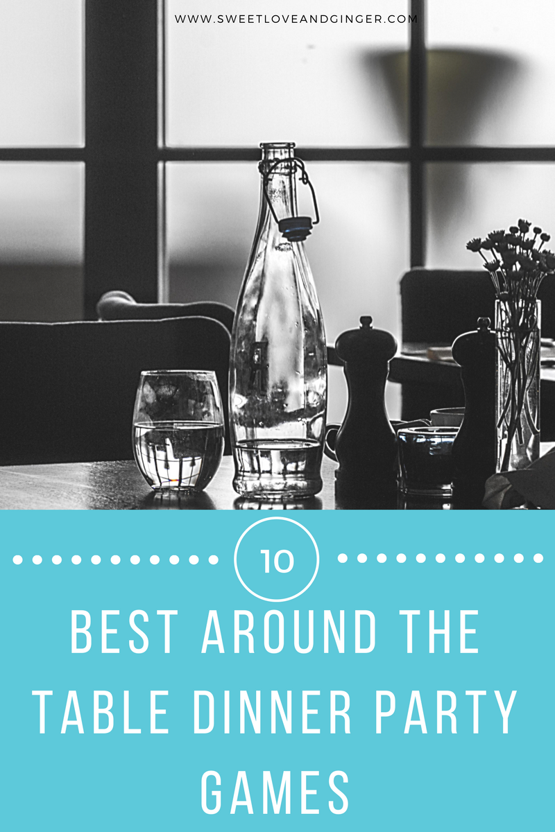 10 best around the table dinner party games