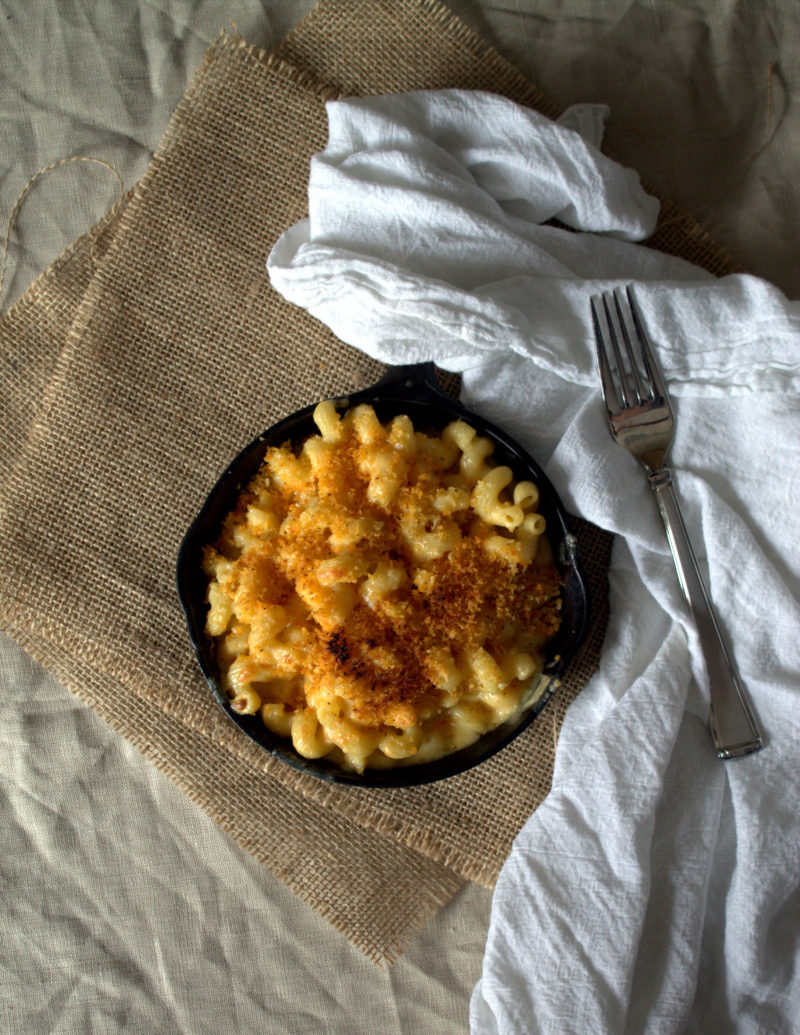 Smoked Gouda Mac and Cheese with Spicy Panko