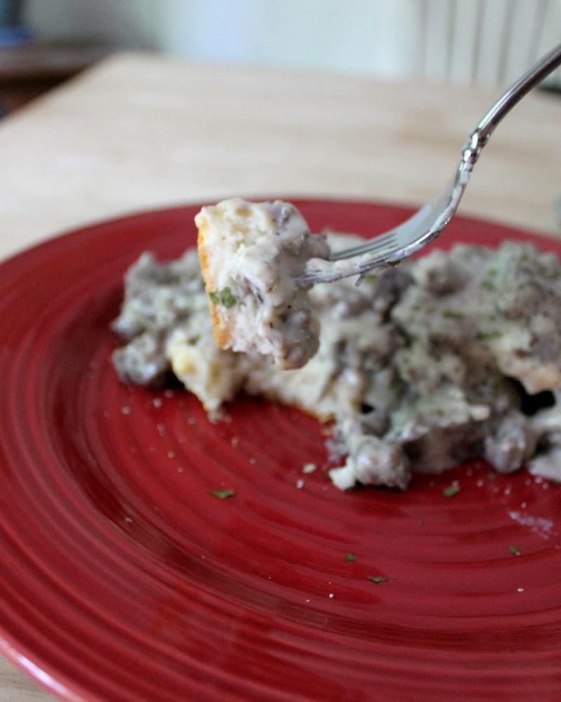 Homestyle Venison Sausage Gravy Recipe