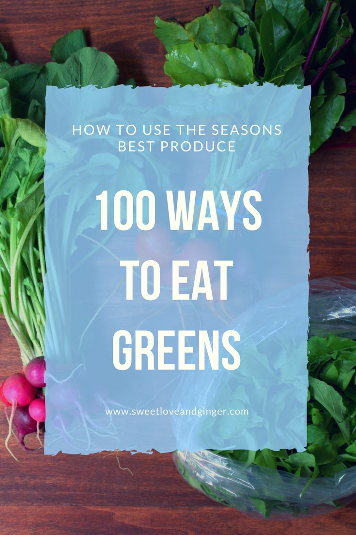 100 Ways to Eat Greens