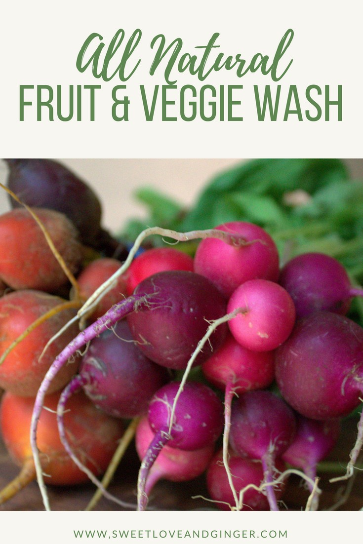 All Natural Fruit and Veggie Wash
