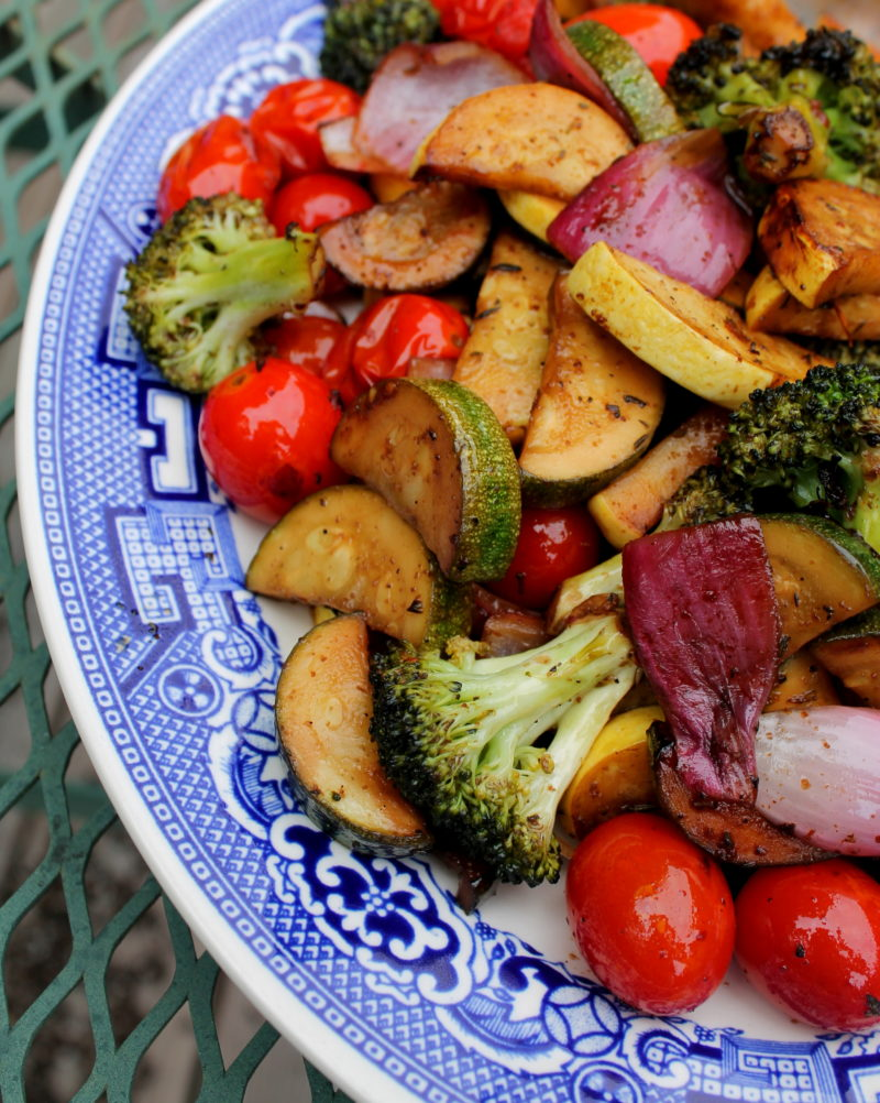Grilled Balsamic Marinated Vegetables
