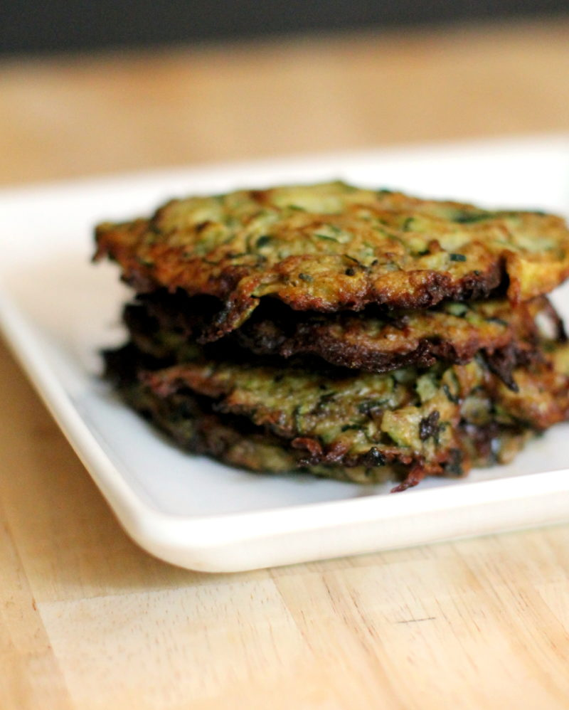 Easy Fried Zucchini Cakes